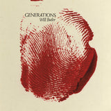 BUTLER, WILL <BR><I> GENERATIONS [Indie Exclusive Clear w/Red Splatter] LP</I>