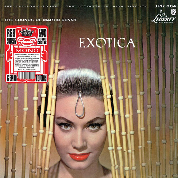 DENNY, MARTIN<BR><I>EXOTICA [Red Mono Vinyl, limited to 1000] LP</I>