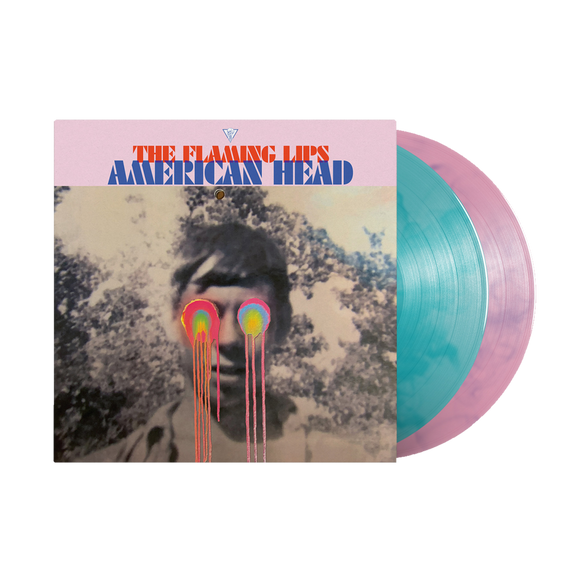 FLAMING LIPS, THE<BR><I>AMERICAN HEAD [Indie Exclusive Pink/Blue Vinyl] 2LP</I>