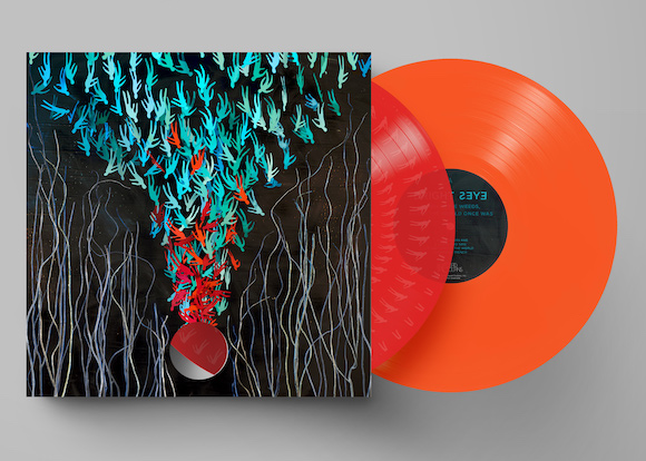BRIGHT EYES<BR><I>DOWN IN THE WEEDS, WHERE THE WORLD ONCE WAS [Indie-Exclusive Red & Orange Vinyl] 2LP<br><br>Release Date: 8/21/2020</I><br>