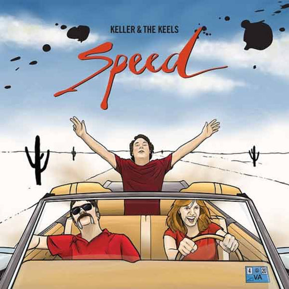 WILLIAMS, KELLER & THE KEELS<BR></I>SPEED LP</I>