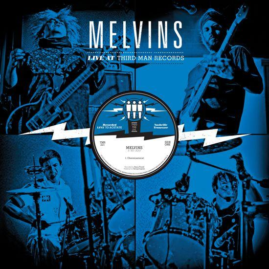 MELVINS<BR><I> Live at Third Man Records LP</I>