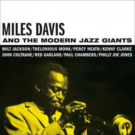 DAVIS, MILES<BR><I>MILES DAVIS AND THE MODERN JAZZ GIANTS [Ltd Blue Vinyl] LP</I>
