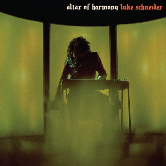 SCHNEIDER, LUKE<BR><I>ALTER OF HARMONY [Limited Color Vinyl + Incense] LP</I>