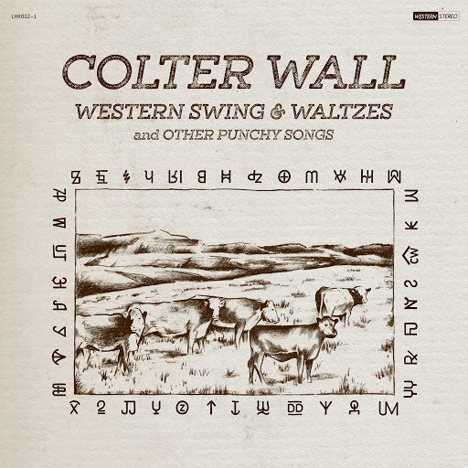 WALL, COLTER<BR><I>WESTERN SWING & WALTZES AND OTHER PUNCHY SONGS LP</I>