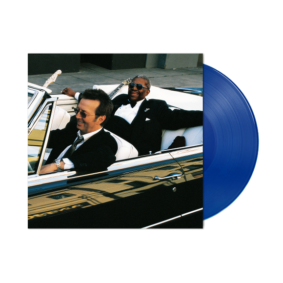 CLAPTON,ERIC &  B.B. KING<br><i> RIDING WITH THE KING (20 Anniversary Expanded Edition) [Blue Vinyl, Bonus Tracks, Indie Exclusive] 2LP</I>