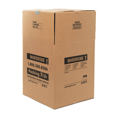 Wardrobe Moving Box Packing R Us Moving Packing Shipping Storing Boxes