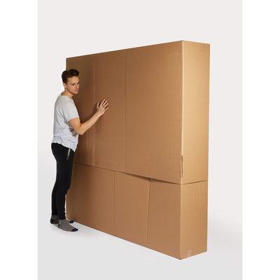 Super Oversized Art / Mirror Box - 80″ x 14″ x 80″ - Packing R Us Moving Packing Shipping Storing Boxes