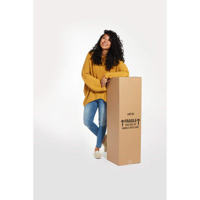 Tall Lamp Box - 12″ x 12″ x 40″ - Packing R Us Moving Packing Shipping Storing Boxes