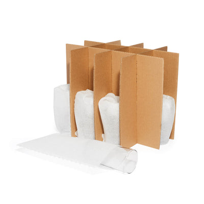 Cardboard Glass Divider Kit Packing R Us Moving Packing Shipping Storing Supplies