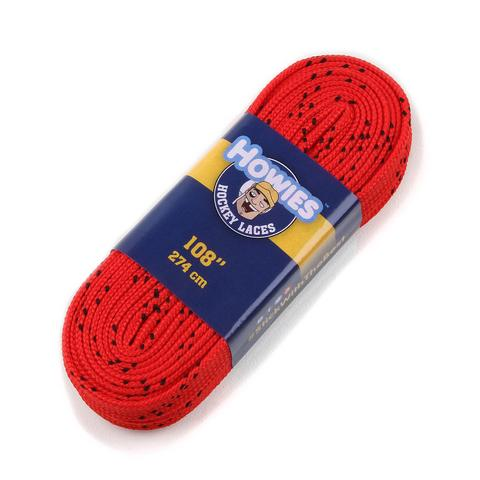 Howies Red Cloth Hockey Skate Laces