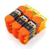 Howies Hot Orange Cloth Hockey Skate Laces
