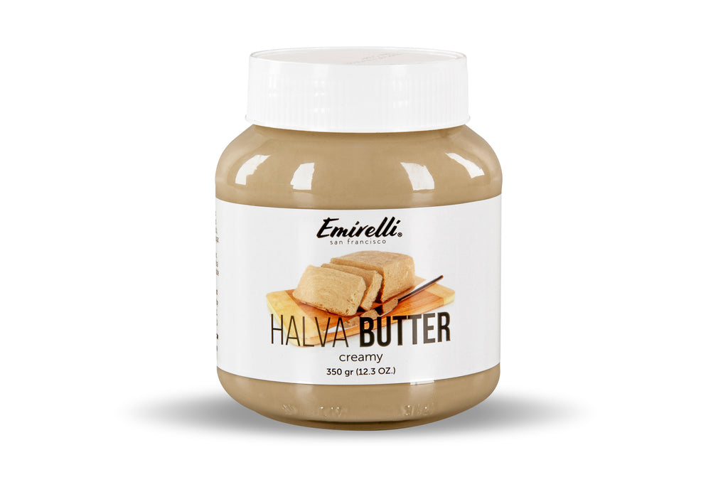 Halva Butter (Original Turkish Halwa) –Delicious Spread Made from Natural Sesame Paste – Melts in Mouth – Soft Creamy Spreadable Tahini Butter Sweet Gourmet Snack
