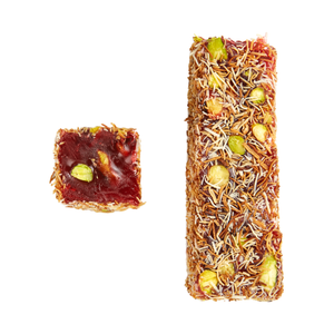 KF30 - Shredded Wheat, Pomegranate and Pistachios