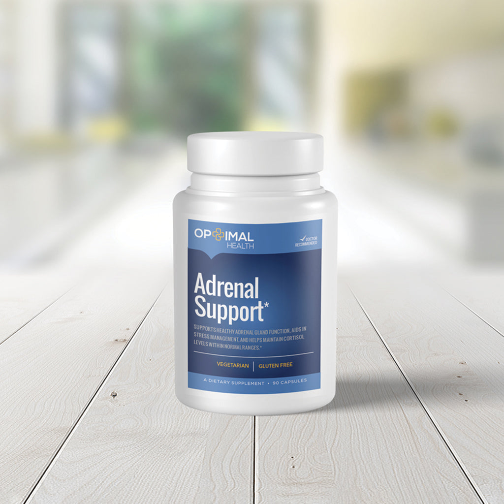 Adrenal Support - Natural Supplement for Optimal Adrenal Gland Function & Health | 90 Capsules