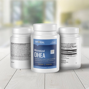DHEA (25mg) - Natural Supplement To Help Maintain Optimal DHEA Levels | 90 Capsules