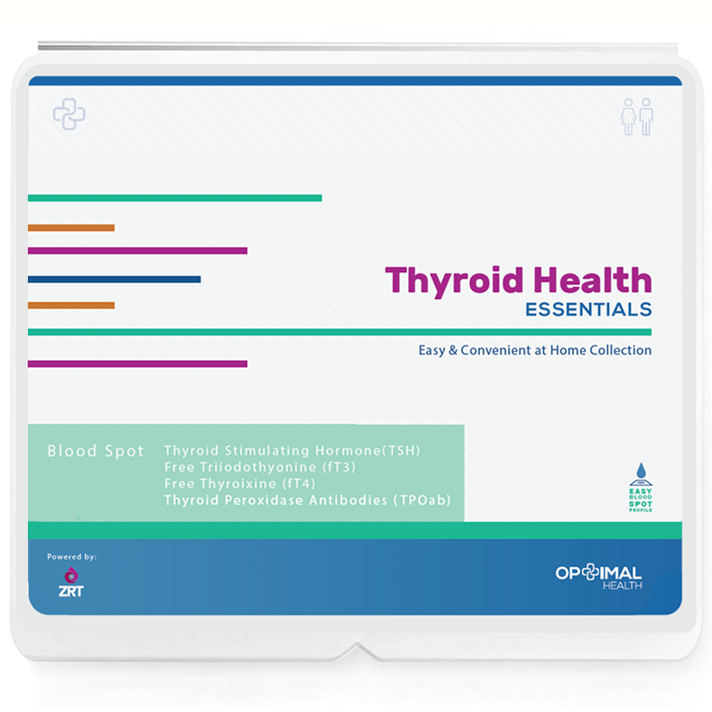 Optimal Thyroid Health - At Home Thyroid Test Kit - Essentials