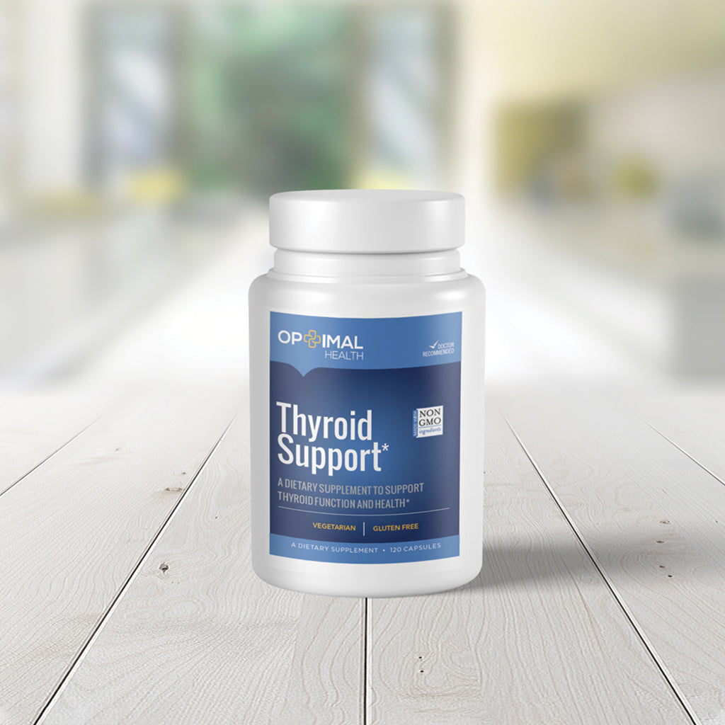 Thyroid Support - Natural Supplement for Optimal Thyroid Function & Health | 120 Capsules