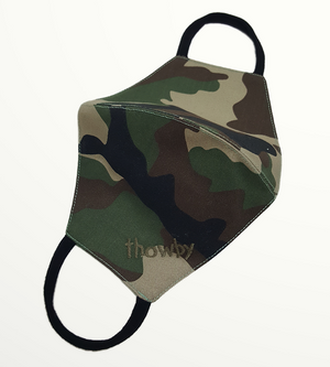 Camouflage S Mask  - Non-medical