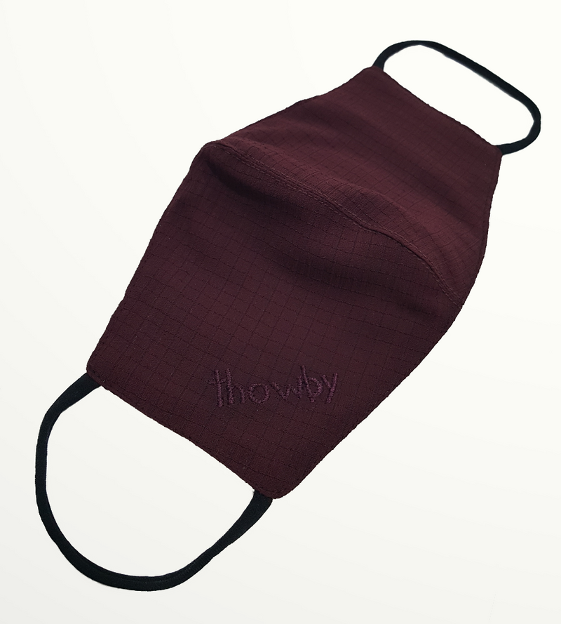 Burgundy - Non-medical Mask