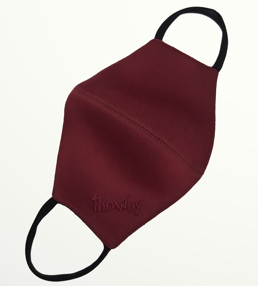 Maroon S Mask  - Non-medical
