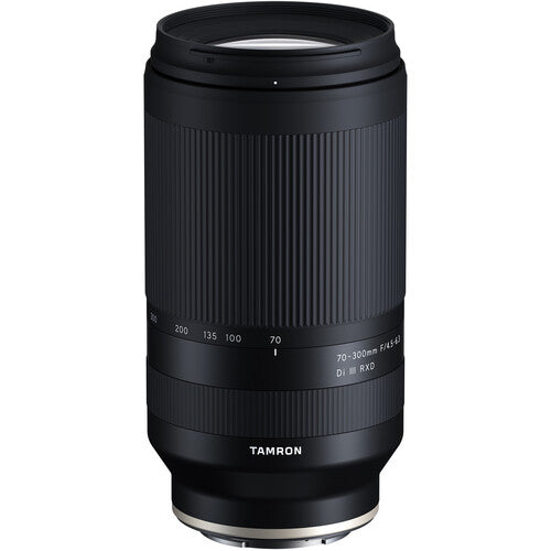 Tamron 70-300mm F/4.5-6.3 Di III RXD for Sony Mirrorless Full Frame/APS-C E-Mount Lens