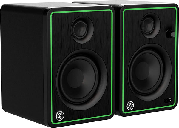 Mackie CR-X Series, 4-Inch Multimedia Monitors with Professional Studio-Quality Sound and Bluetooth - Pair (CR4-XBT)