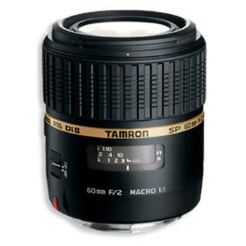 Tamron 60mm f-2.0 SP AF Di-II 1:1 Macro Lens for Canon