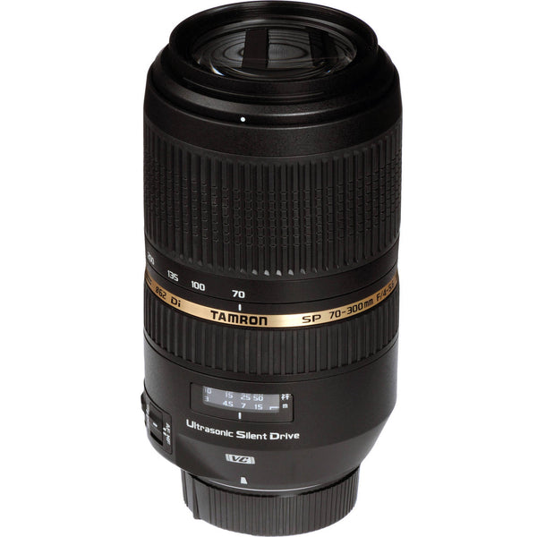 Tamron 70-300mm SP f-4-5.6 Di VC USD Lens for Canon