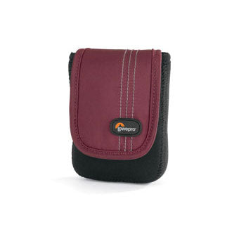 Lowepro Dublin 10 Pouch for Ultra-Compact Cameras - Black-Red