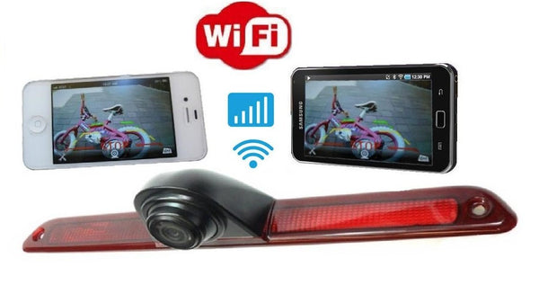 4UCam Mercedes Sprinter Van Wifi Backup Camera for Android-iOS devices