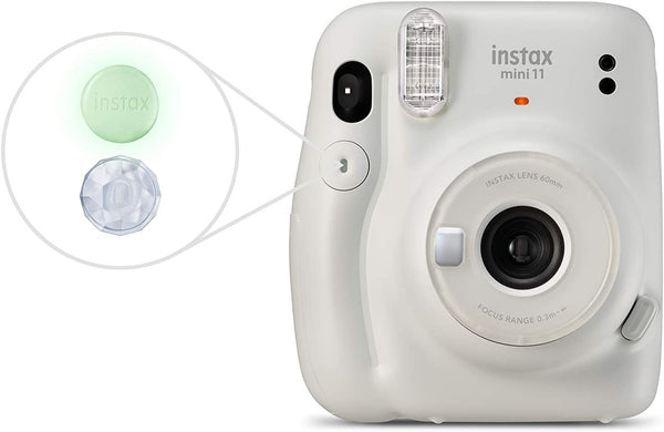 Fujifilm Instax Mini 11 Instant Camera - Ice White