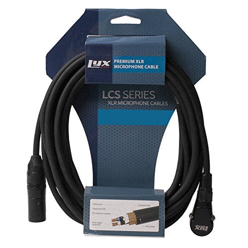LyxPro LCS Premium Series XLR Microphone Cable for Professional Microphones and Devices