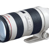 Canon EF 70-200mm f-2.8L USM Zoom Lens (White)