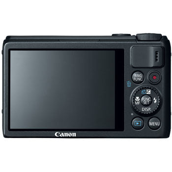 Canon PowerShot S100 Digital Camera (Black)