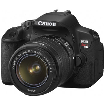 Canon EOS Rebel T4i DSLR Camera W-18-55 IS II Lens