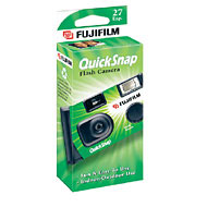 FujiFilm QuickSnap Single-Use Camera with Flash