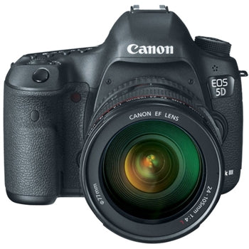 Canon EOS 5D Mark III DSLR with EF 24-105mm Lens and Essential Accessories