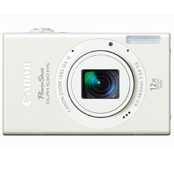 Canon PowerShot ELPH 530 HS Compact Digital Camera (White)