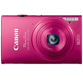 Canon PowerShot ELPH 320 HS Compact Digital Camera (Red)