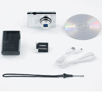 Canon PowerShot ELPH 320 HS Compact Digital Camera (Silver)