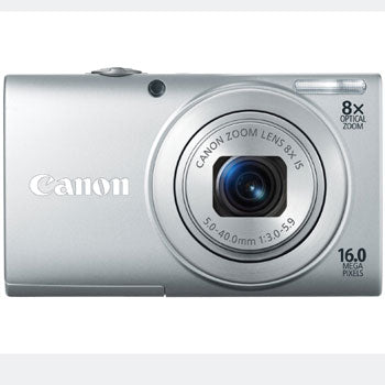 Canon PowerShot A4000 IS Compact Digital Camera (Silver)