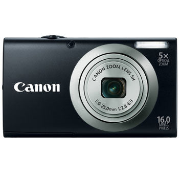 Canon PowerShot A2300 Compact Digital Camera (Black)