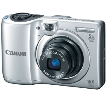 Canon PowerShot A1300 Compact Digital Camera (Silver)
