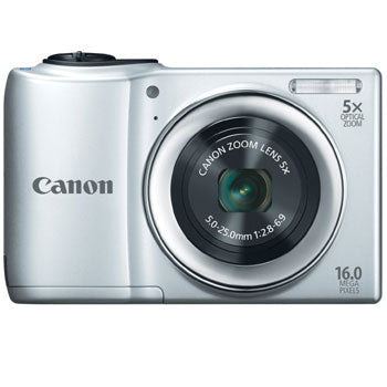 Canon PowerShot A810 Compact Digital Camera (Silver)