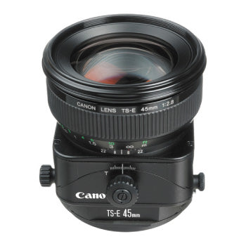 Canon TS-E 45mm f-2.8 Tilt-Shift Lens (Black)
