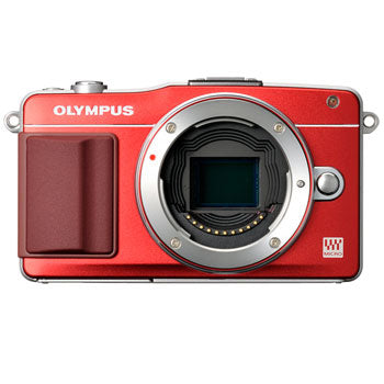 Olympus E-PM2 PEN Camera Body Only (Red)