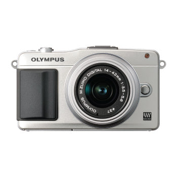 Olympus E-PM2 with 14-42mm Lens (Silver)
