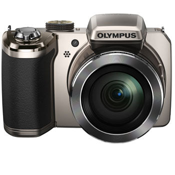 Olympus SP-820UZ iHS Digital Camera (Silver)