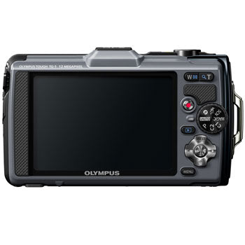 Olympus TG-1 IHS Digital Camera (Silver)